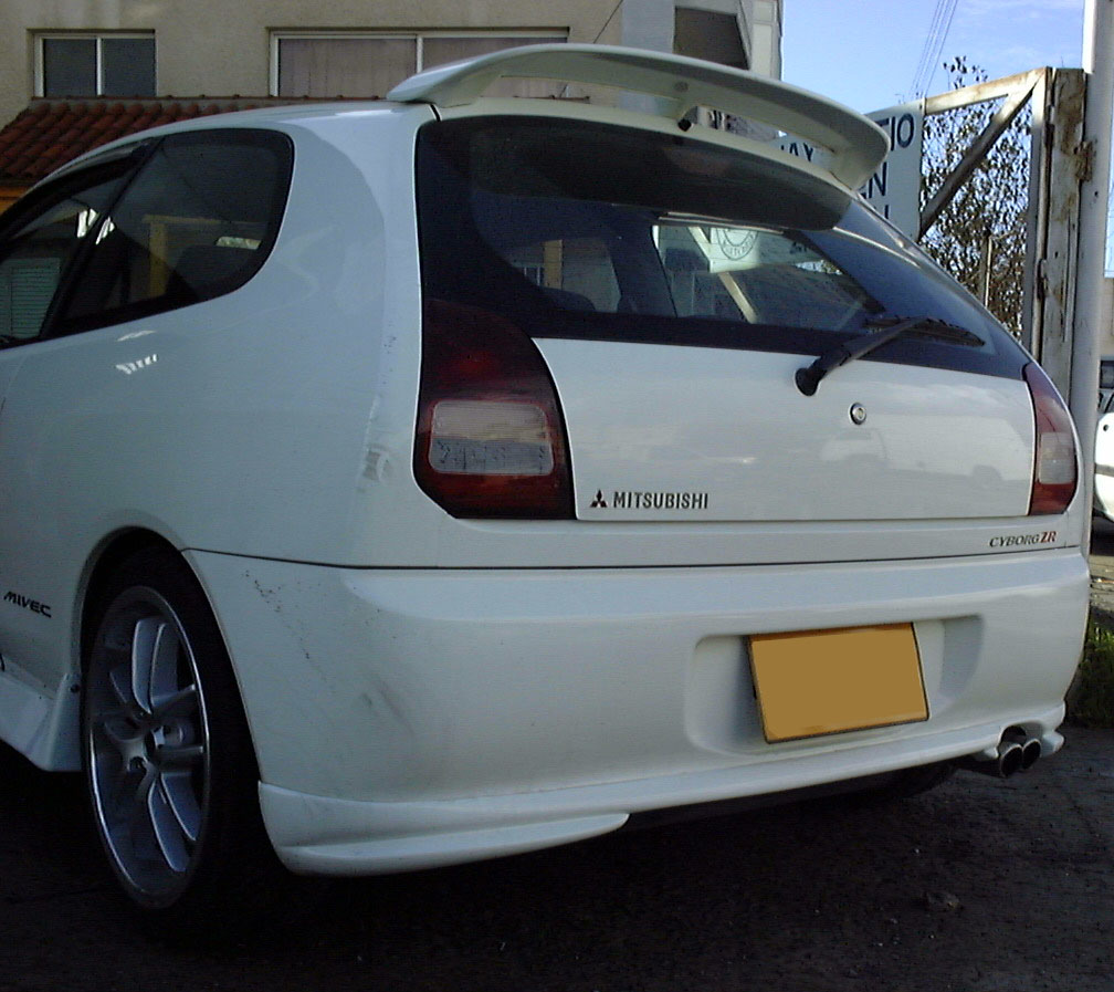 Roof Rear Spoiler Wing For Mitsubishi Colt Mirage 1996