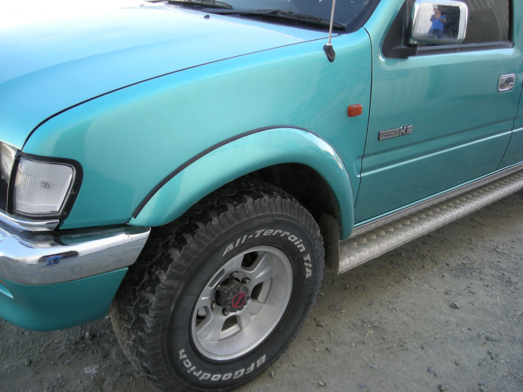 Fender Flares Wheel Arches For Isuzu Kb Chevrolet Luv